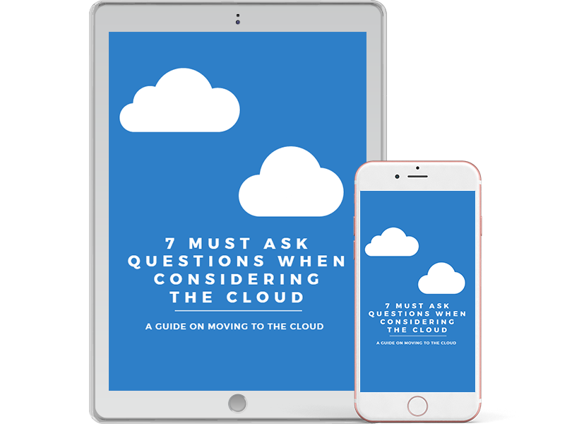 7 must ask questions when considering the cloud eBook