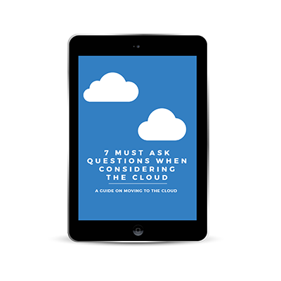 7 must ask questions when considering the cloud
