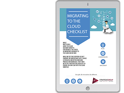 Migrating to the Cloud Checklist